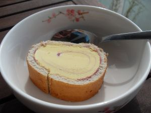 Arctic Roll (and now its back!). Loved this even though it gave me nightmares if eaten before bed...!