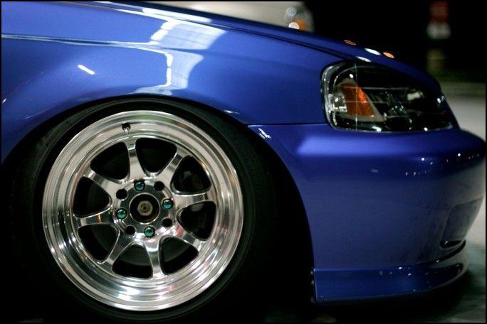 1999 Honda Civic Tire Size