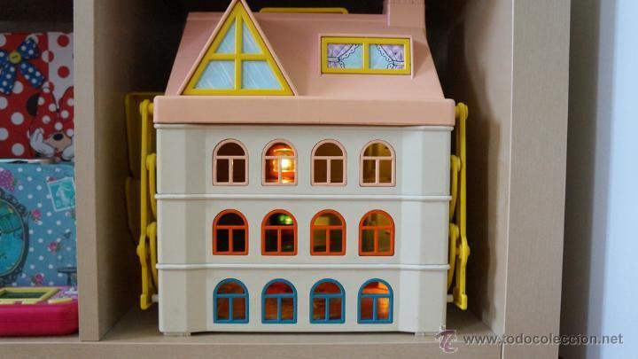 Casa Family Feber de Pin y pon con luces y muñecos. Época chabel, nancy