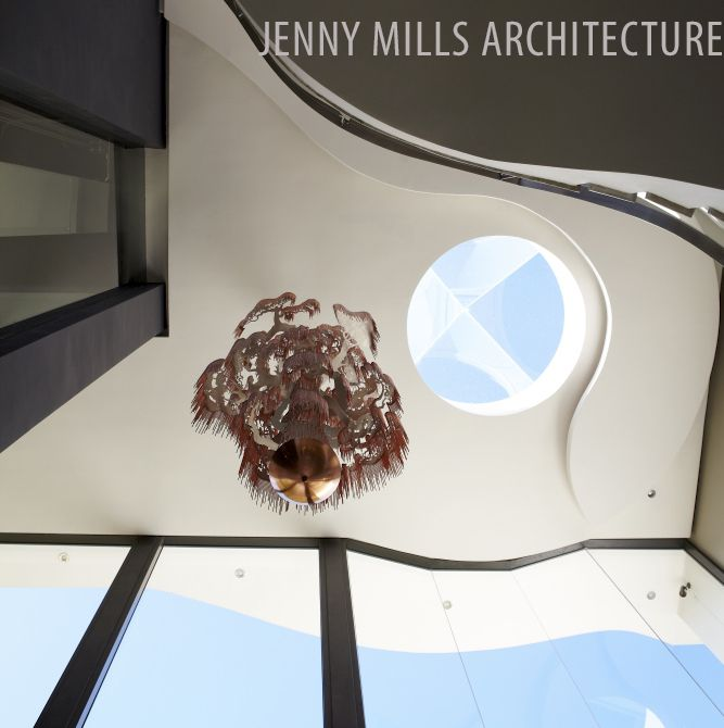 atrium, skylight, light fitting, natural light, chandelier