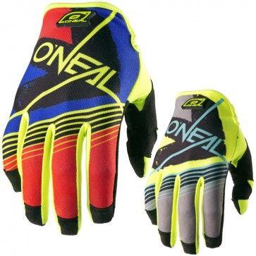 O'Neal Jump Hardwear Skizm Mens Motocross Off Road Dirt Bike Racing Gloves