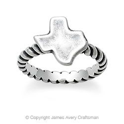 Texas Ring from James Avery Ring size 9 (: You Aint Met My TX Yet!