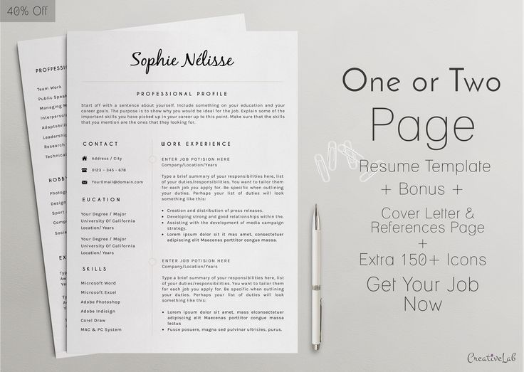 The 25+ best Resume maker ideas on Pinterest How to make resume - reference page format resume
