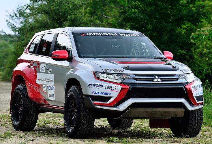 Mitsubishi Outlander PHEV Baja Race Car for 2016