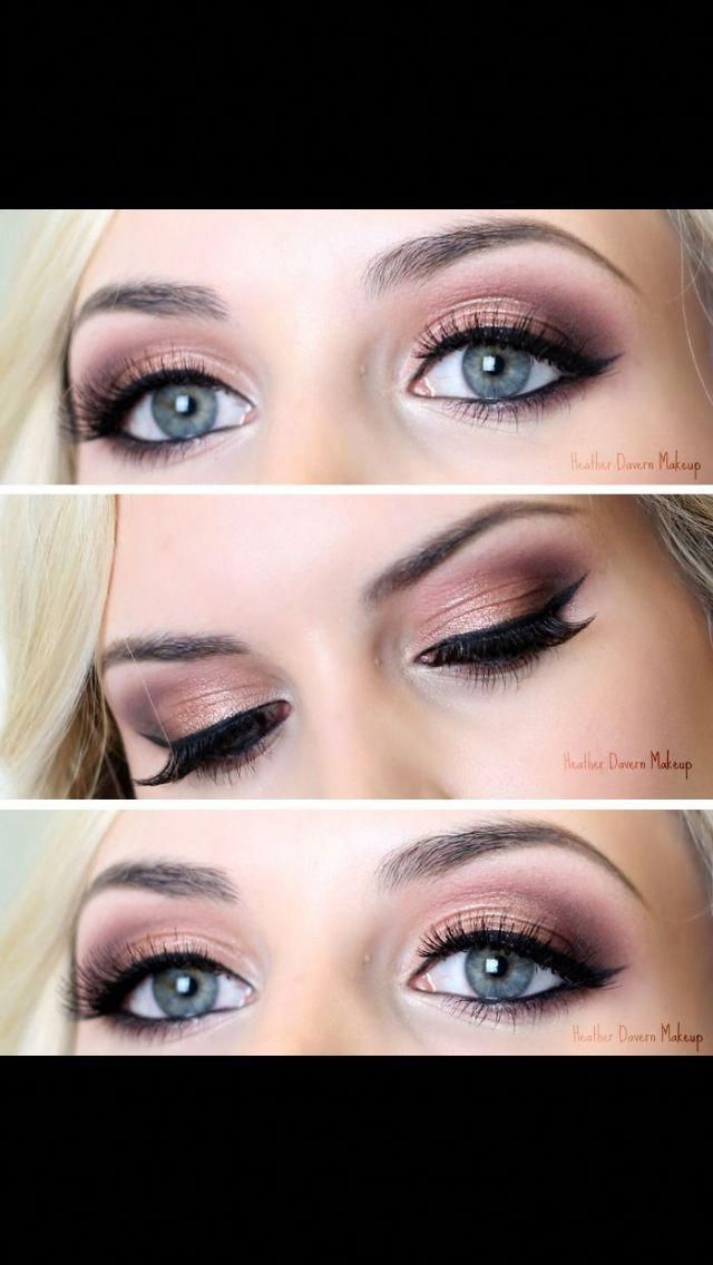 Make-up sieht Schritt für Schritt aus #Makeuplooks