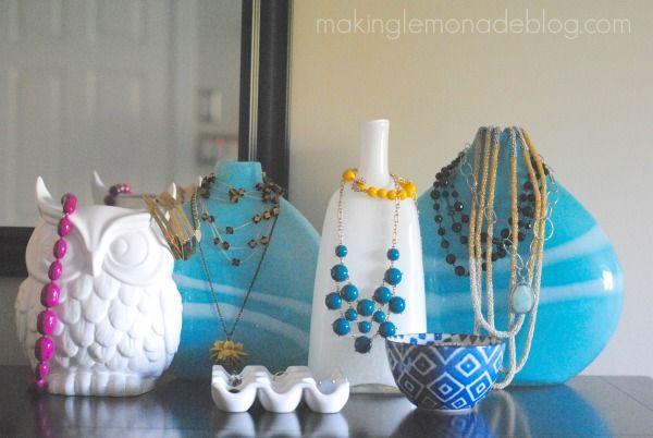 Hometalk :: Unique Jewelry Organization and Decor Idea