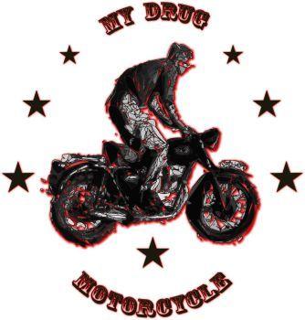 My Drug Motorcycle by elarogante