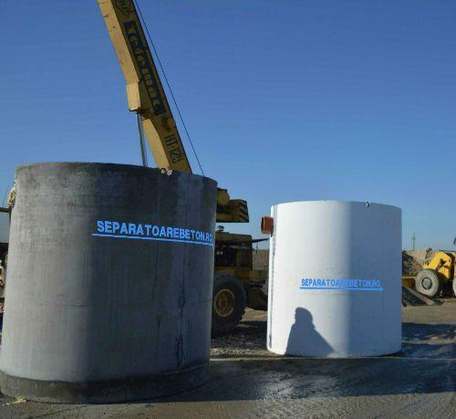 Instalarea unui separator din beton