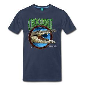 Navy Saltwater Crocodile T-Shirts