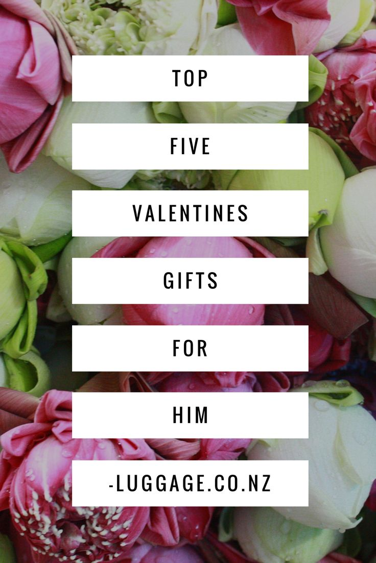 Top 5 Valentines Gifts for Him | Free Shipping & Easy Returns NZ Wide | luggage.co.nz
