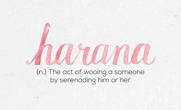 """""""Harana"""""""