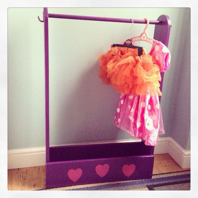 Dress Up Clothes Storage Unit Diy Kids Room Pinterest