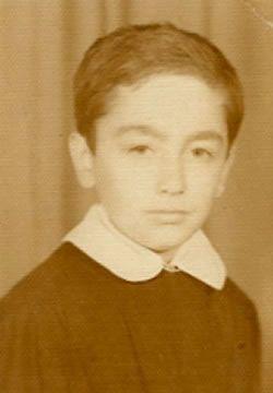 Childhood picture of Harun Yahya aka Adnan Oktar