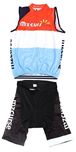 Mzcurse Mens Team Mountain Bike Cycling Short Shirt Jersey Shorts Suit Kit Set Vest Kit  XXXLargeplease check the size chart ** More info could be found at the image url.(This is an Amazon affiliate link and I receive a commission for the sales)