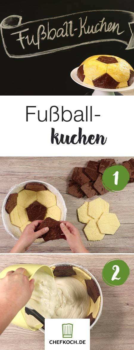 Fußball-Kuchen – Chefkoch