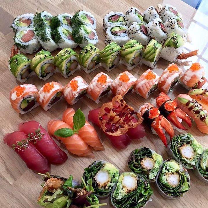 Best 25+ Sushi Party Ideas On Pinterest