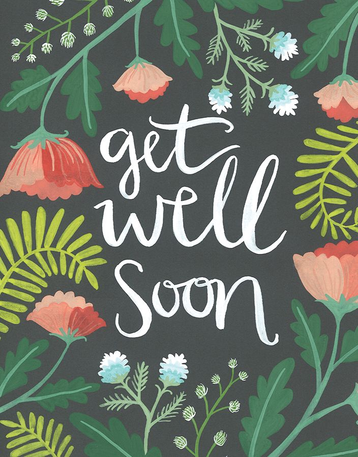 Get Well Soon card by One Canoe Two on Postable.com