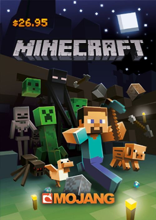 Minecraft gift card. Should be available at Target. for Tyler