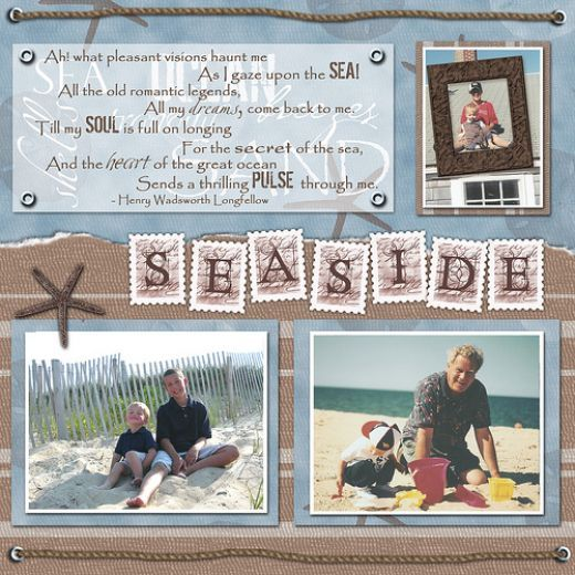 Save yourself time and energy with premade scrapbook pages for awesome results in your scrapbooking.