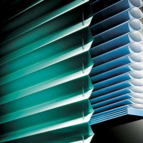9 best cellular pleated shades images on pinterest for Budget blinds motorized shades