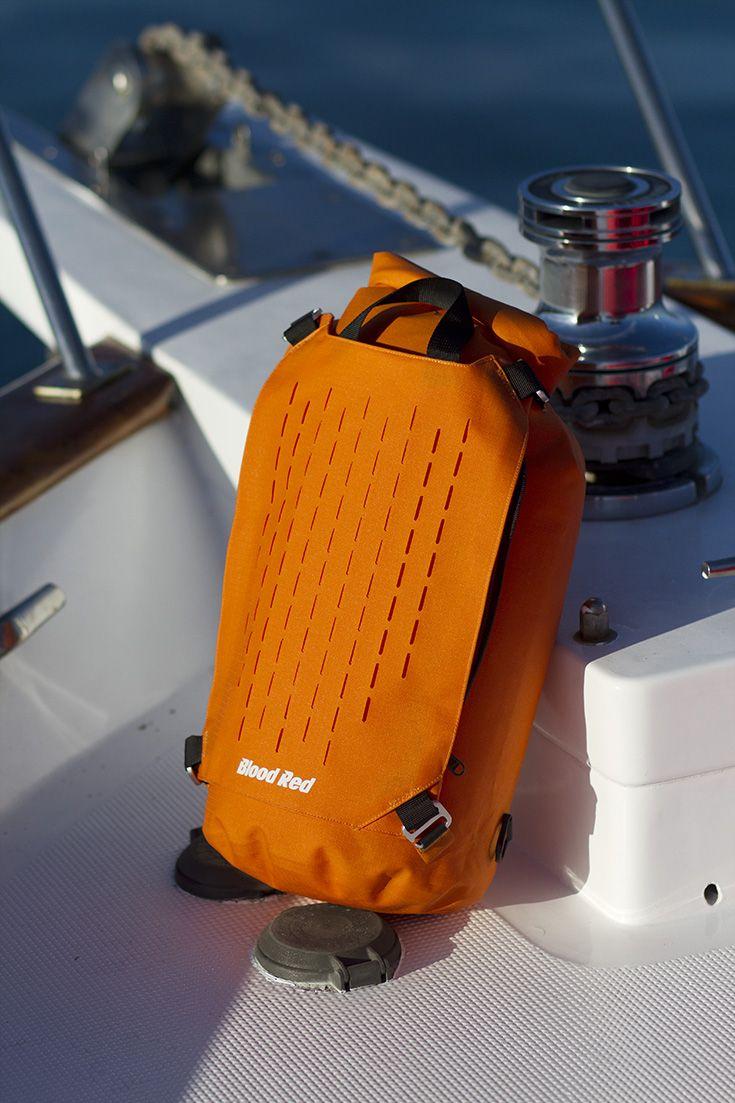 Russet Cylinder Dry Bag 15L #bloodredclothing #bloodreddrybag