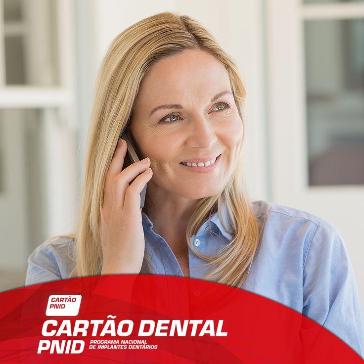 Sem complicações, o Cartão Dental PNID permite-lhe tratar do seu sorriso de forma simples e acessível! www.pnid.pt/cartaodentalpnid