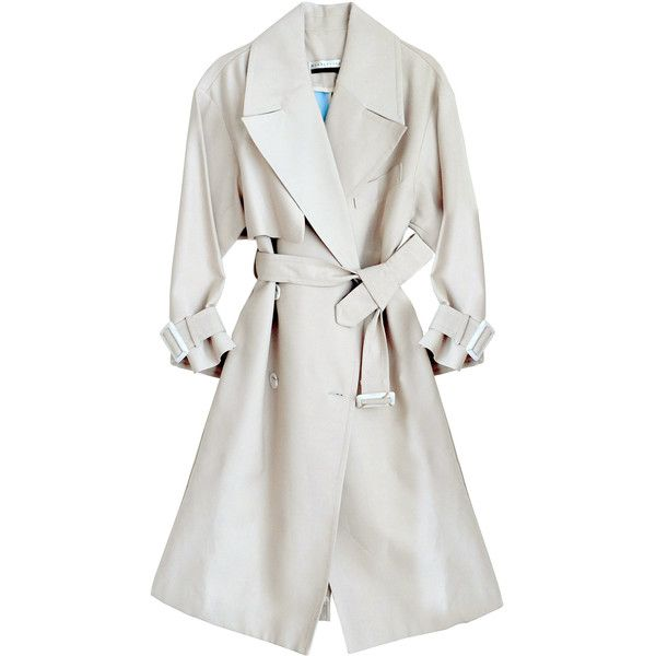 1000  ideas about White Trench Coat on Pinterest | Coats Trench