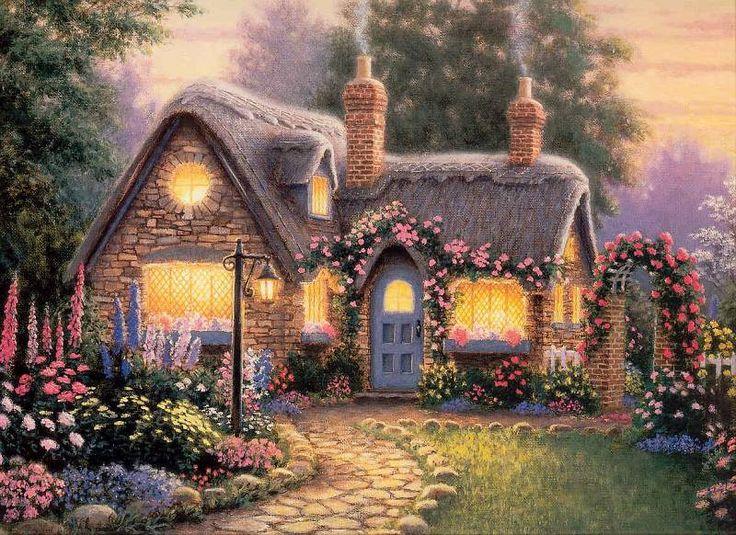 Картинки сказочные домики