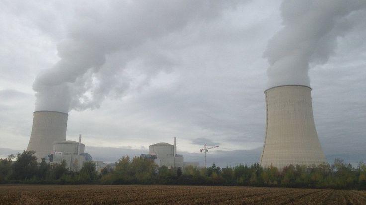 La centrale nucléaire de Golfech (82), ce mardi matin. © Olivier Denoun / France 3 Midi-Pyrénées