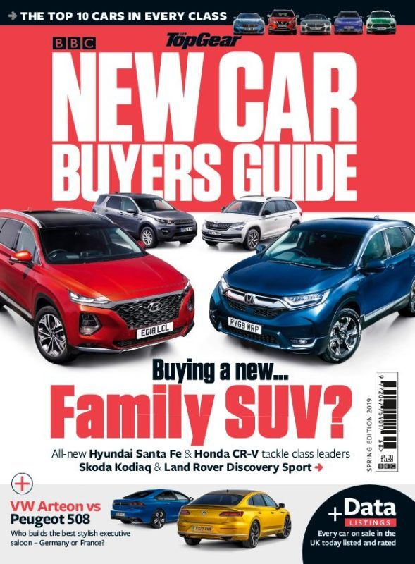 Bbc Top Gear New Car Buyers Guide Spring Edition 2019 New Cars
