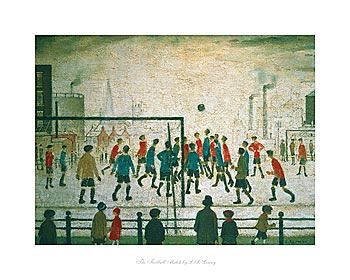 The Football Match by L.S Lowry