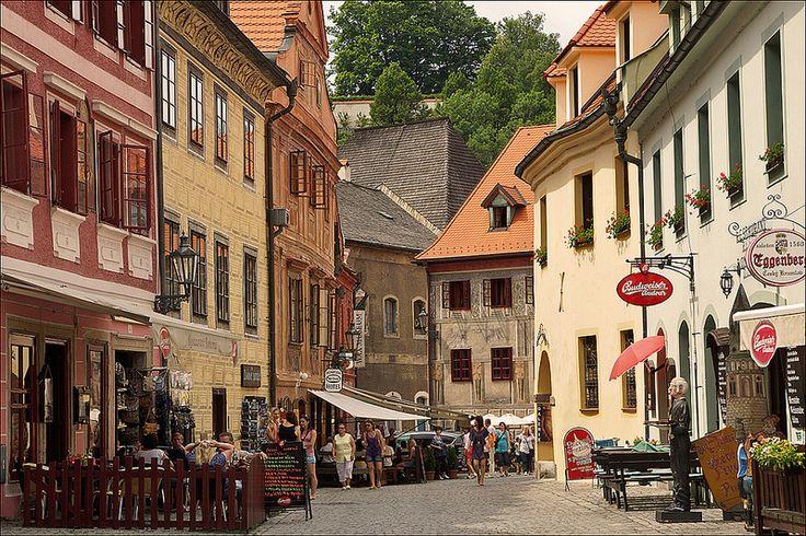Street in Český Krumlov