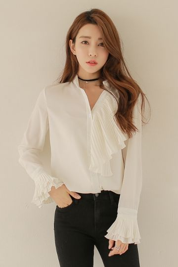 Ellin Blouse | Korean Fashion