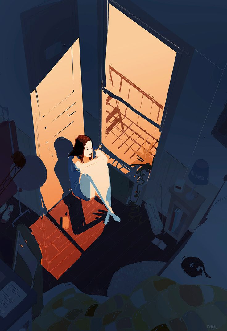 Doubts. It's always in the middle of the night...you wake up and you can't go back to sleep.. listening to Springsteen ... it's all better when the sun comes up. #pascalcampion