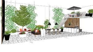 Billedresultat for havedesign små haver