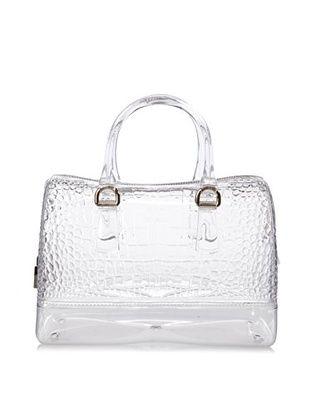 41% OFF Furla Women's Candy Medium Satchel Top Handle Handbag (Crystal)