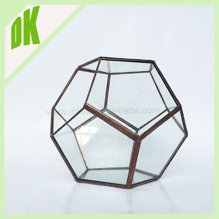 Professional Glass Manufacture Wholesale Assorted Hydroponic Container Mini Handblown  Glass Terrarium Part 37