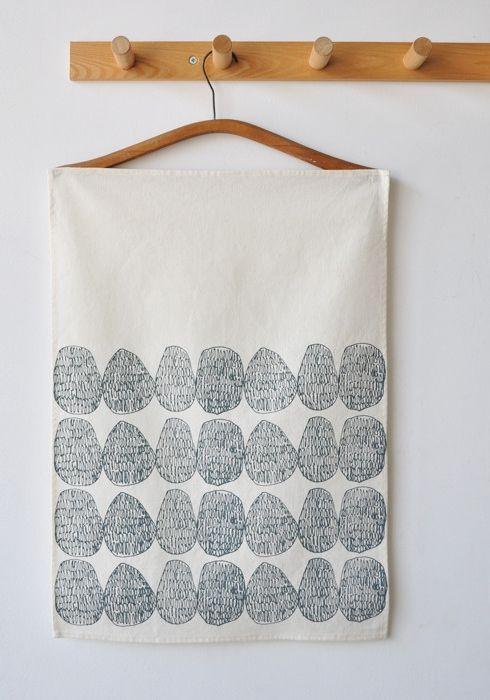 BOOKHOU Stones Tea Towel