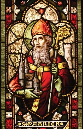 Patron saint and national apostle of Ireland, credited with bringing Christianity to Ireland and probably responsible in part for the Christianization of the Picts and Anglo-Saxons....