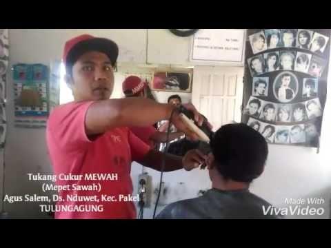 Tukang Cukur; MEWAH (Mepet Sawah) - YouTube