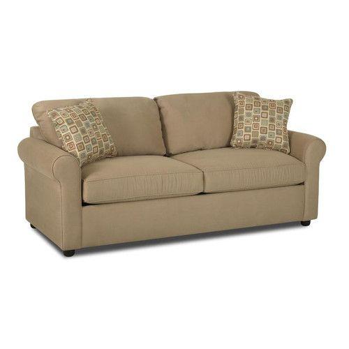 klaussner furniture brigthon dreamquest queen sleeper loveseat - Sleeper Chair