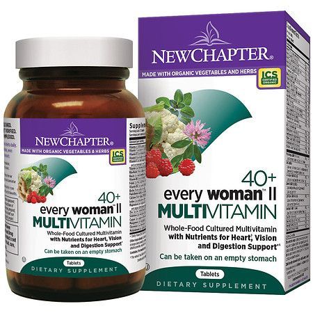 New Chapter 40+ Every Woman Ii Multi Vitamin, Tablets - 48 Ea