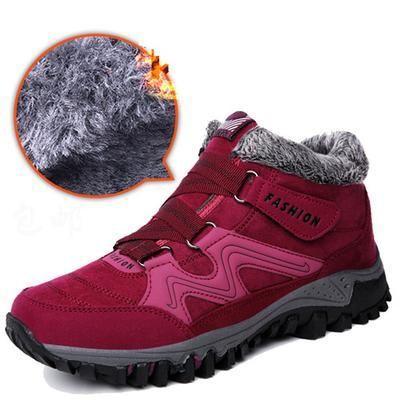 Plataforma de piel mujer zapatillas cuero invierno casual calzado cálido otoño deporte vulcanizar calzado   – Shoes