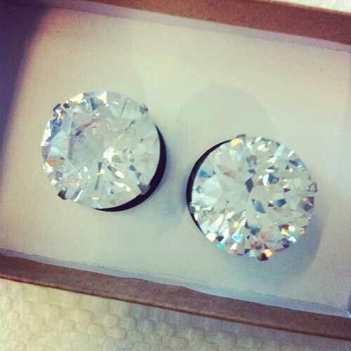 Diamond ear plugs