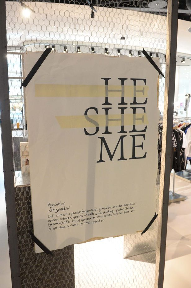 Gender-neutral clothing: We try out Selfridges new Agender range