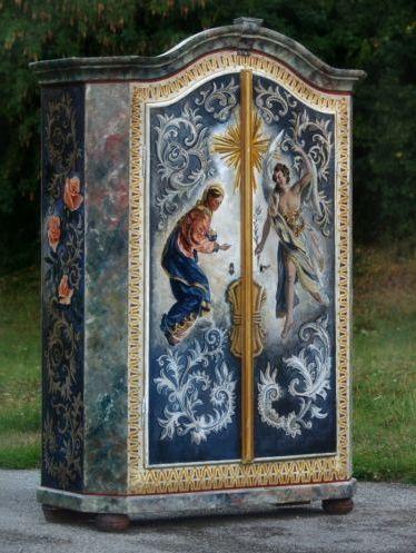 Spectacular Details zu Bauernschrank antiker Schrank bemalt Verk ndigung
