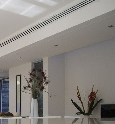Linear Diffusers In Main Rooms And Master Suite Hardware