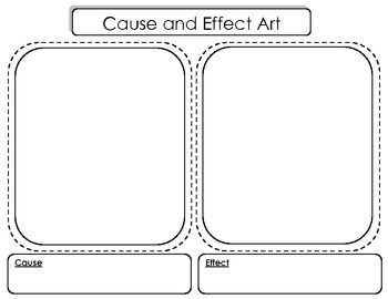 Free Cause and Effect Drawing Activity
