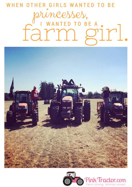 We love all the fantastic photos you all sent us of STRONG women in ag! Here's a little motivation for your morning. Thanks Kris for sharing this photo! www.pinktractor.com