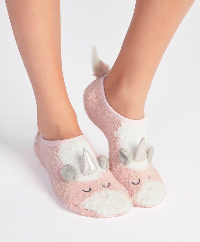 Footie unicornio - null - Tendencias AW 2016 en moda de mujer en Oysho online: ropa interior, lencería, ropa deportiva, pijamas, moda baño, bikinis, bodies, camisones, complementos, zapatos y accesorios.